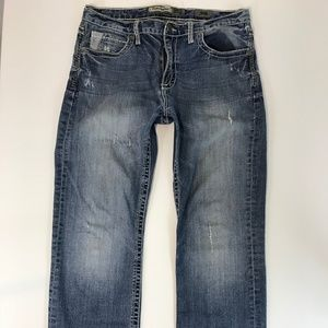 BKE Denim Mens Jeans SZ 33R TYLER STRAIGHT